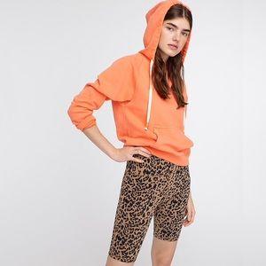 j. crew - NWT leopard printed biker shorts